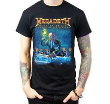 Megadeth Rust In Peace Twentieth (Anniversary) Mens Black T Shirt S - XXL