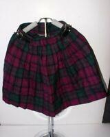 Girls Glen Appin Purple Kilt Size 6 Years