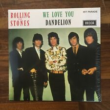 "Rolling Stones ‎– We Love You / Dandelion French RE remastered MONO 7"" 45 LTD ED"