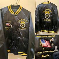 Teamsters Local 229 Scranton, PA The Office King Louie Jacket Mens XL W/ 3 Pins