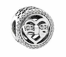 PANDORA 792146CZ Loving Ties Bead Charm - Sterling Silver