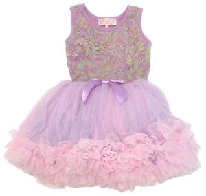 Popatu Baby Girls Tutu Ruffle Dress