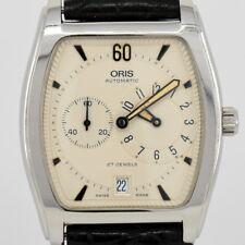 Auth ORIS Tonneau Regulator 7471 Date Automatic Men's Watch i#82148