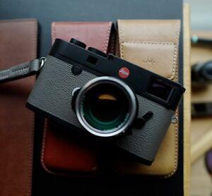 Leica M10 Real leather skin / film  - Arte di mano -