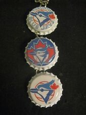 """1"""" Bottle Cap Image Inside R/View Mirror ~ Handcrafted ~ **Gift Idea ~ Blue Jays"""