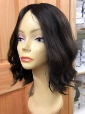 Malky wig Sheitel European Multidirectional  Human Hair Darkest Brown/ High 2/7