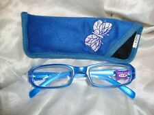 Reading Glasses-Blue Butterfly  2.50