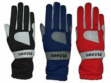 KART RACING GLOVES MADE OF OMARA AND POLYESTER FOR BETTER GRIP BRAND NEW