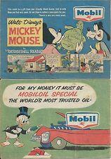 Mobil Disney 22 Mickey Mouse '64 Mini Comic Promo Giveaway Premium Australian F