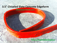 """3 Concrete Cement Slate Stone Step Stair pool Liner Edge Form Mold 3.5"""" x8ft New"""