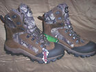 Rocky Waterproof Boots Camo Hunting Boots Mens 9 Regular Insulated Boots 800 Gr.