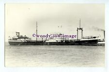 pf3887 - Anglo Saxon Oil Tanker - Nuculana , built 1942 - photograph