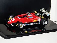 FERRARI 126 C2 #28 ANDRETTI ITALY GP 1982 HOT WHEELS ELITE T6939 1/43