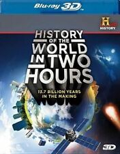 History of The World in Two Hours 3d - Blu-ray Region 1