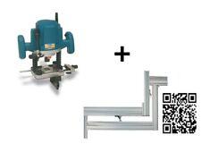 VIRUTEX Défonceuse électronique FRE160P 1800W + Gabarit limon escalier PFP