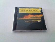 """LEONARD BERNSTEIN """"SIBELIUS SYMPHONIE No 2"""" CD 4 TRACKS COMO NUEVO WIENER PHILHA"""