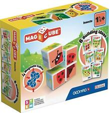 Kids Children Geomag 121 Magicube Insects Construction Magnetic Cube Gift Toy