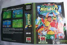 Neo geo aes Super sidekicks 2 US insert Original
