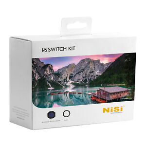 NiSi V6 Switch Kit with 100mm Filter Holder Switch Holder and Enhanced CPL