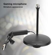 Plug and Play Desktop Laptop Microphone with Foldable & Detachable Mini Stand