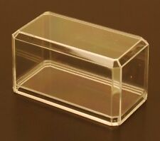 DISPLAY CASES 6 PACK FOR 1/64 SCALE DIECAST CRYSTAL CLEAR NEW IN BOX FREE SHIP