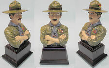 WORLD SCOUT MOVEMENT FOUNDER - BADEN POWELL of GILWELL COLOUR BP Figure Figurine