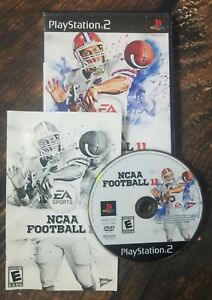NCAA Football 11 PS2 Complete W/Manual Tim Tebow Cover 2010 Sony Playstation 2