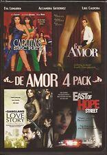 de Amor 4 Pack (DVD, 2012)