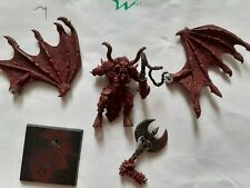 40k Warhammer Chaos Bloodthirster Greater Daemon of Khorne metal OOP