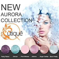 QUTIQUE Gel Nail Polish Colour Kit/Pack/Set -AURORA COLLECTION -Pro Quality