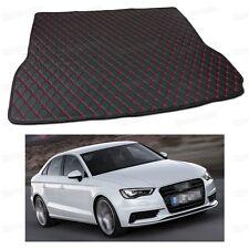 Anti Scrape Leather Car Trunk Mat Carpet Fit for Audi A3 Sedan 2014 15 16 2017