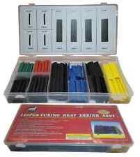 120 Piece Heat Shrink Tubing -Assorted Colors Sizes Heatshrink Wrap Tubes Sleeve