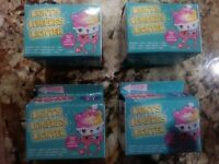NEW SEALED! NUM NOMS LIGHTS Lot Of 4 Hard To Find Series 2.1 Blind Mystery