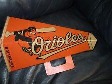 1960's Baltimore Orioles Mascot Cardboard Megaphone *Unused*