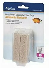 NEW Aqueon QuietFlow 10 Specialty Filter Pads Ammonia Reducer 4pk FREE SHIPPING!