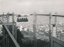ESPAGNE c. 1950 - Manège  Le Tibidabo Parc d'Attractions  Barcelone  - Div 10295