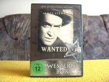 JAMES STEWART WESTERN - BOX  / 5 FILME AUF 2 DVD´S     *** AKZEPTABEL ***