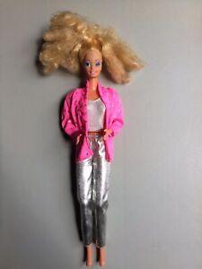 Barbie Rockers 1985 Rockstar Anni 80 Superstar Era Made In Hong Kong