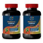 Probiotic Complex - Advanced Blended Formula - 2 Bottles - 120 Ct