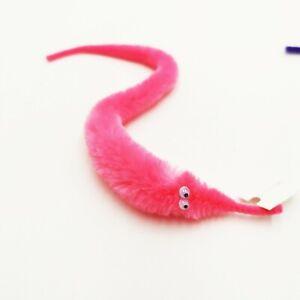 Magic Worm Trick Fun Fuzzy Twisty Plush Educational Parties Toy