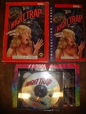 SEGA CD VINTAGE GAME NIGHT TRAP