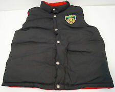 POLO RALPH LAUREN Boys Red Black Down Waterfowl Puffa Waistcoat Gilet Jacket 8Y