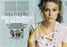 Coupure de presse Clipping 2005 Keira Knightley (4 pages)