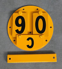 MLC-Schild Brückenbelastungsschild Unimog 404S Magirus MAN 630