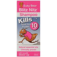 Euky Bear Head Lice Blitz Nitz Shampoo 250mL