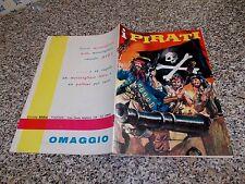 ALBUM I PIRATI MIRA 1962 ORIGINALE OTTIMO VUOTO CON 6 FIGURINE TIPO LAMPO PANINI