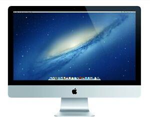Apple Imac 27 i5-4570 3.2ghz 8GB 1TB HDD - Me088ll/a - Silver