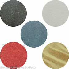 More details for aquarium fish tank coloured sand substrate 1/2/5/10/20kg black/white/natural/red