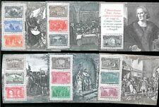 ITALIA REPUBBLICA - 1992 Serie foglietti I VIAGGI DI COLOMBO **