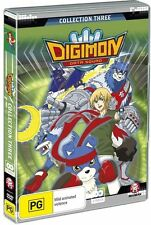 B5 BRAND NEW SEALED Digimon Data Squad : Collection 3 (DVD, 2010, 2-Disc Set)